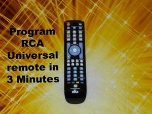 old rca universal remote programming instructions