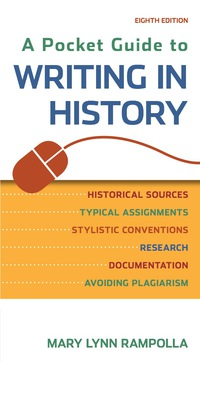 A pocket guide to writing in history 8th edition pdf
