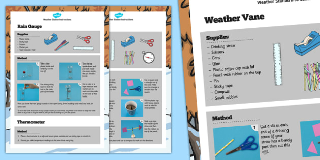 maplin weather station instructions