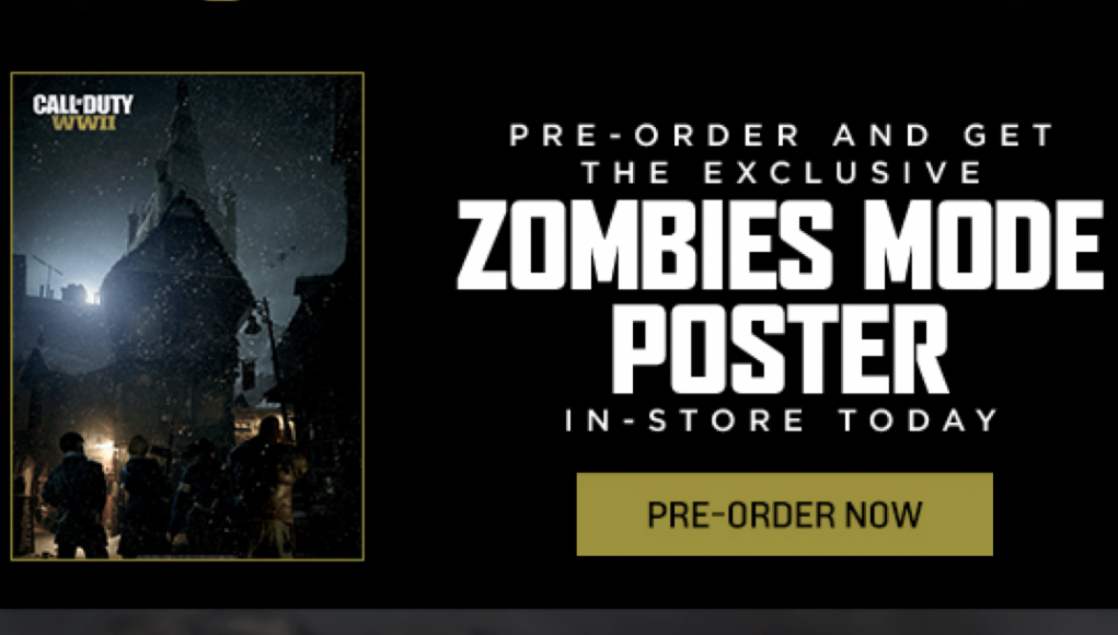 Cod ww2 bar pre order how to get