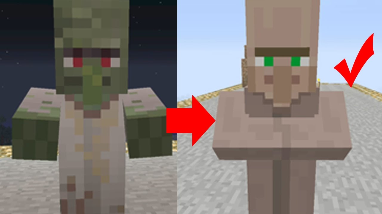 Minecraft how to get a villager