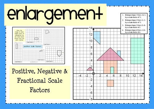 Scale drawing and scale factor worksheet pdf