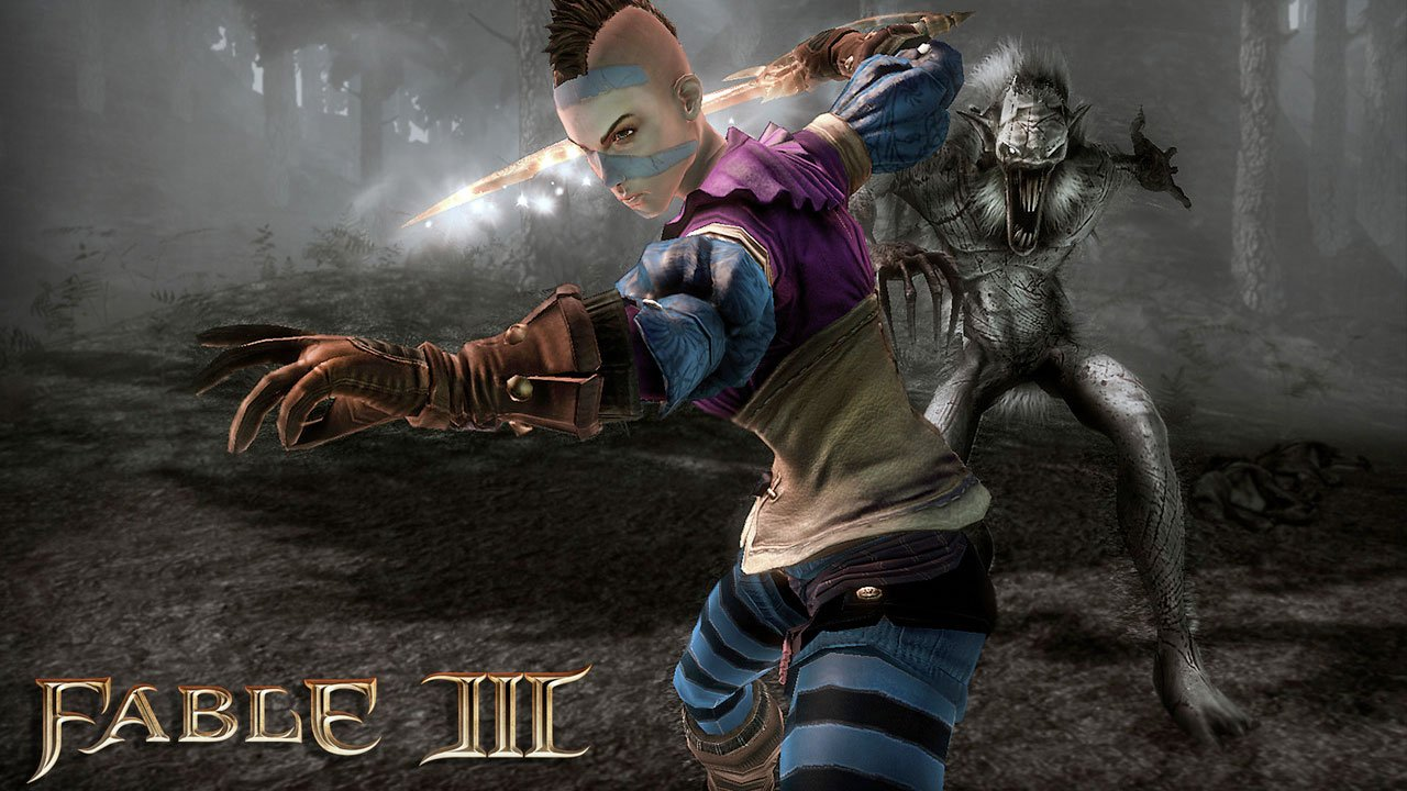 Fable 3 how to get black tattoo