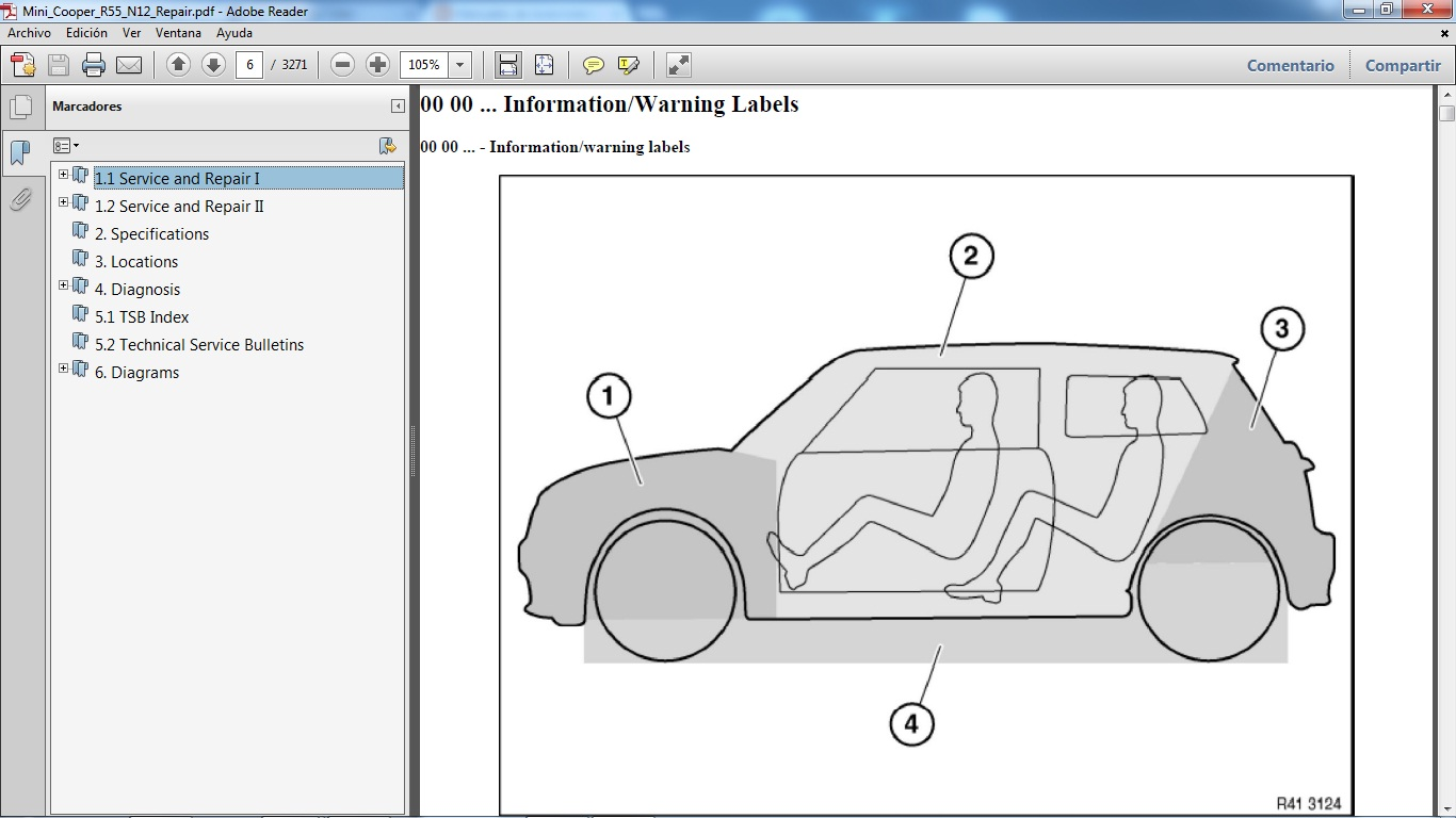 mini cooper s r53 workshop manual pdf