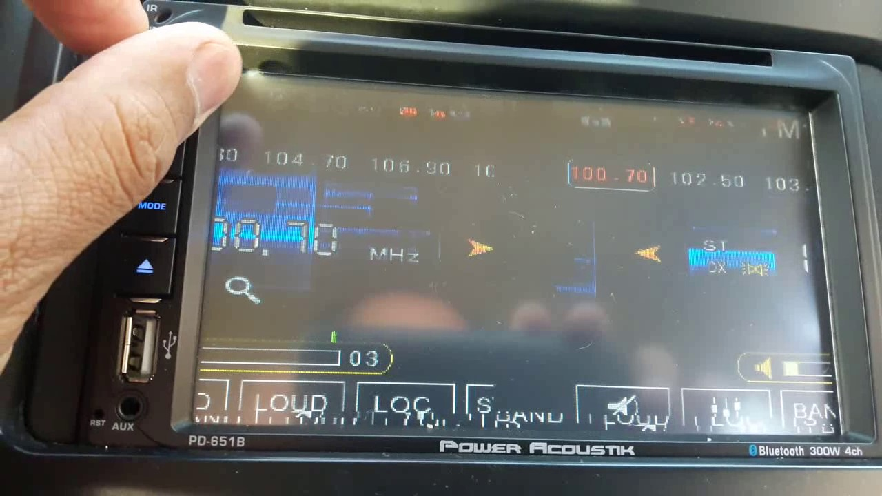 Power acoustik pd 651b manual