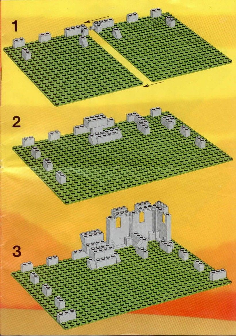 lego castle building instructions