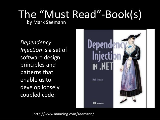 Dependency injection in net mark seemann pdf