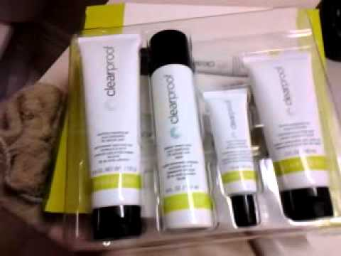 mary kay clear proof set instructions