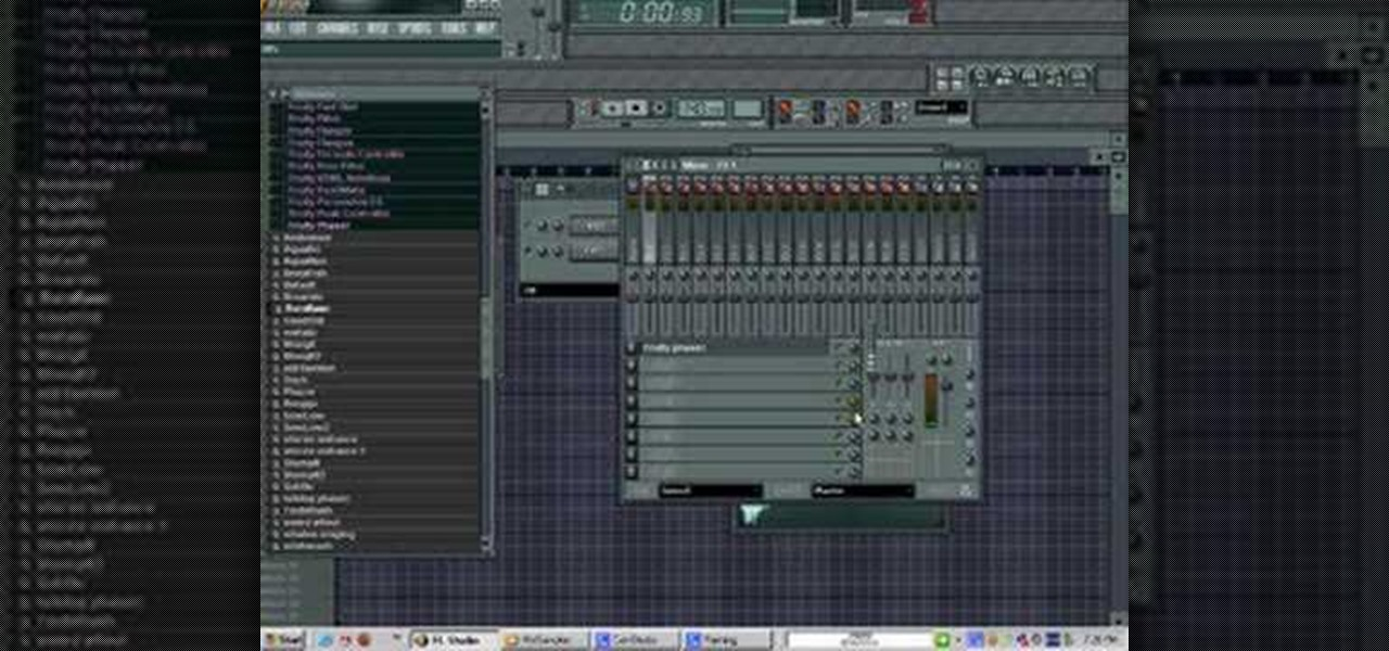 Fl studio how to cut background sound off sample