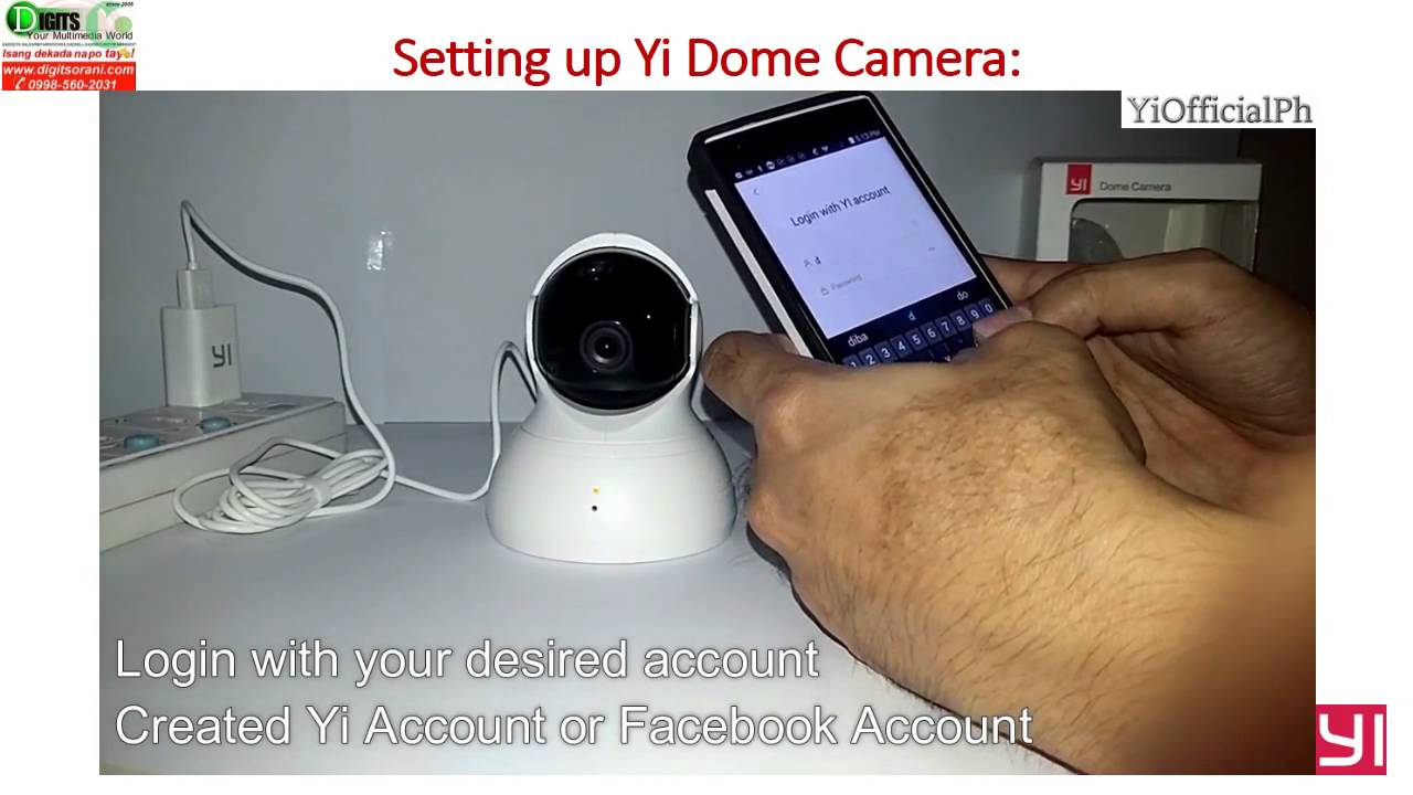 Yi home camera manual english